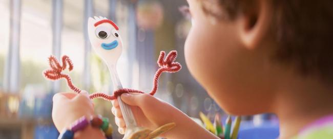 Forky in Toy Story 4