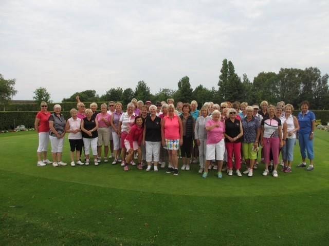 A full field competed at Cath Fage's Lady Captain's Day competition at Clacton on Sea Golf Club