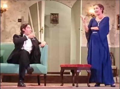 GETTING INTO THE SPIRIT: Blithe Spirit at last year's Frinton SummerTheatre