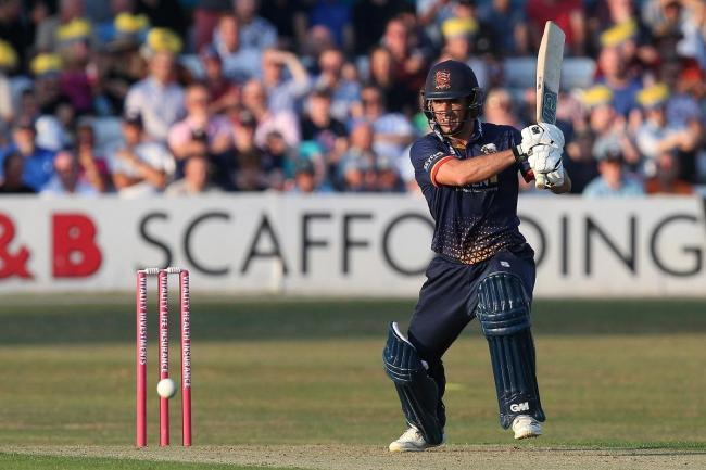 Frustrated - Essex star Ryan ten Doeschate