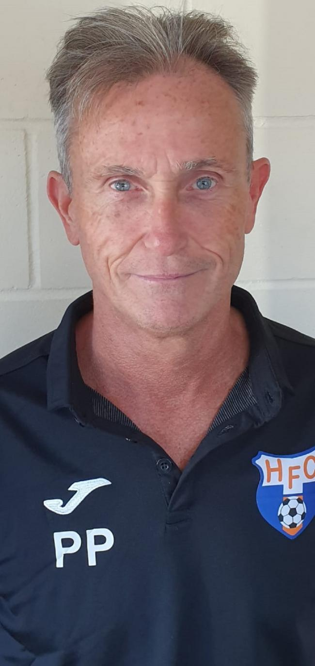 Holland FC manager Paul Phelan