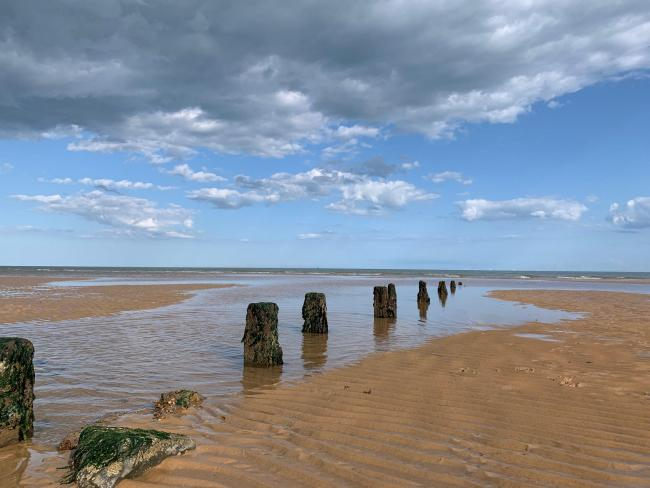 READER PICTURE: Life's a beach in Frinton