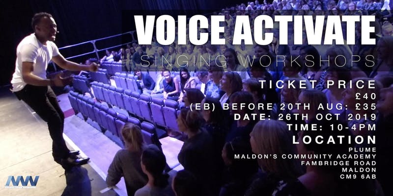 Voice Activate singing workshop with Clinton Jordan