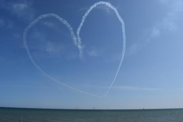 All smiles at second day of Clacton Airshow