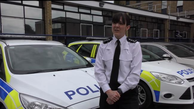 Message - head of roads policing Sharn Taylor
