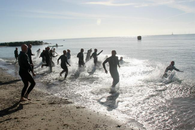 PUSH YOURSELF: The 21st Clacton Triathlon takes place this weekend