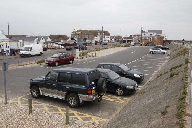 Scene - file picture of the Tamarisk Way car park, Jaywick