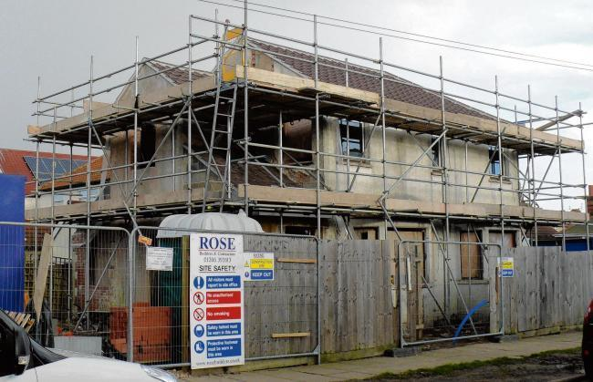 BACK IN USE: A derelict and abandoned house in Berkeley Road, Clacton, was brought back into use by Tendring Council in 2015 following a compulsory purchase order