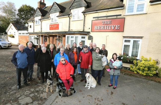 Locals concerned over the fate of The Beehive, in Bromley Road, Colchester