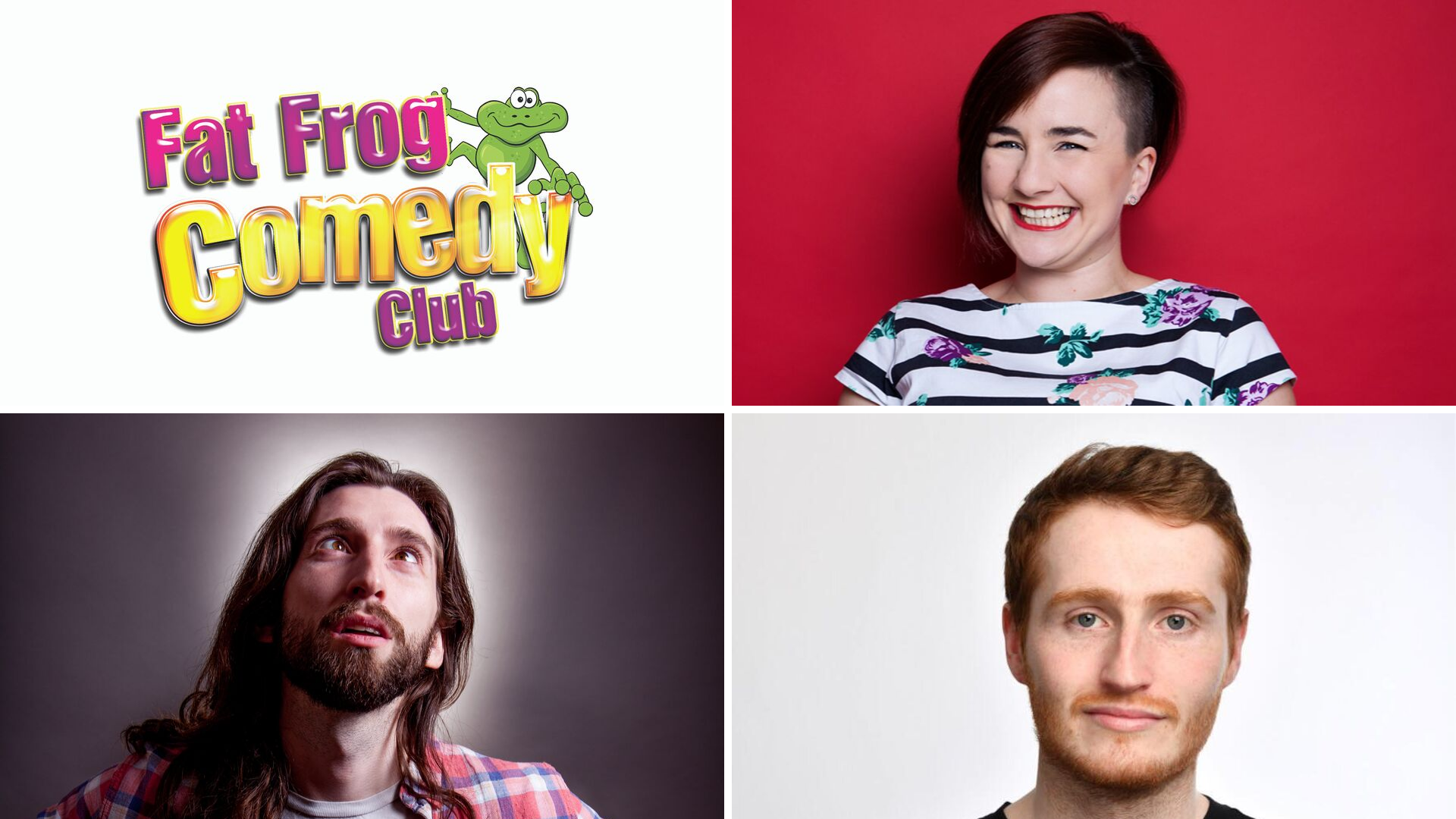 Fat Frog Comedy with Laura Lexx & Jay Handley