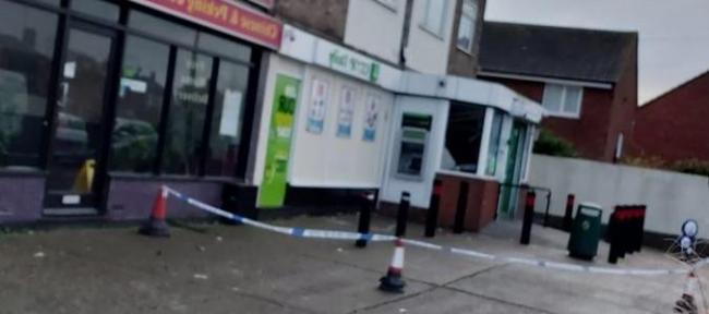 Three men charged in connection with cash machine theft