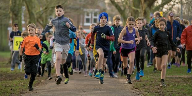 Clacton and Frinton Gazette: Youngsters set off at Colchester Junior Parkrun