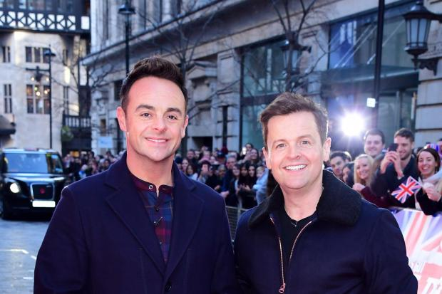 Anthony McPartlin (left) and Declan Donnelly