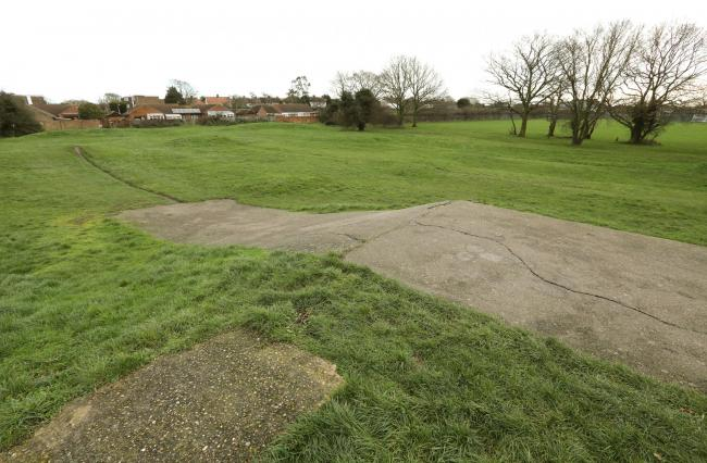 The BMX Track off of St Johns Road, Clacton..