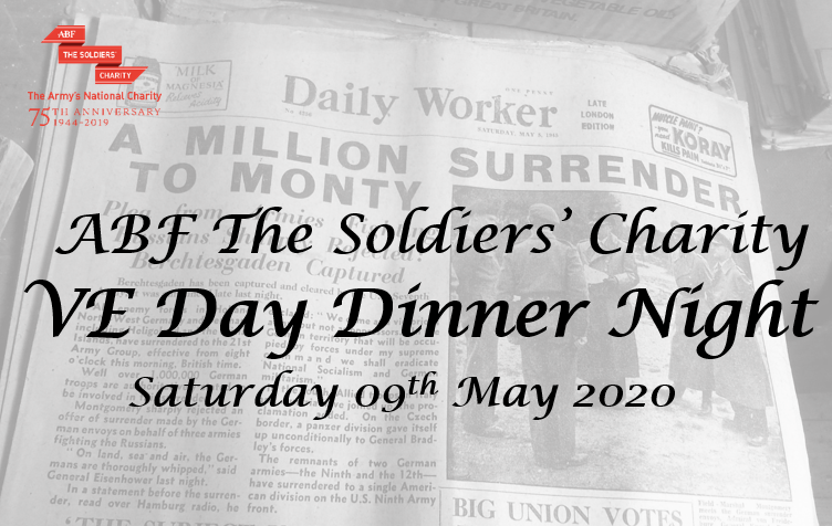 ABF The Soldiers' Charity VE Day Dinner