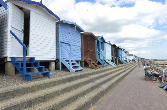 Repairs start on beach huts