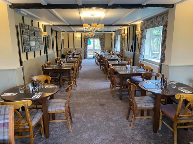 Clacton and Frinton Gazette: There's plenty of space for diners inside the refitted premises