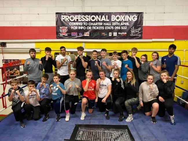 Talent - boxers from the Colchester-based Willies Amateur Boxing Club, who will be hoping to impress in Clacton on Saturday