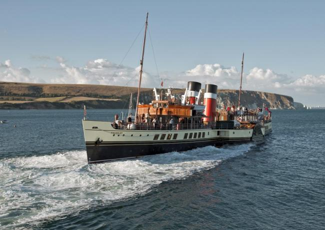 Steaming ahead: The Waverley will be returning to Clacton later this year