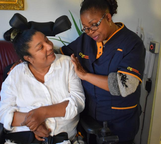 HELPING HAND: CRG Homecare is looking to employ more than 250 new workers to cope with demand