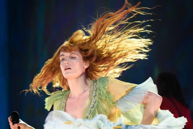 Florence And The Machine on stage