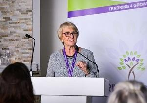 GOVERNMENT GRANTS: Mary Newton at Tendring4Growth women in business week. Picture: Robert Wong Photography, October 2019.