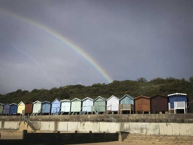 READER PICTURE: Rainbow over Frinton