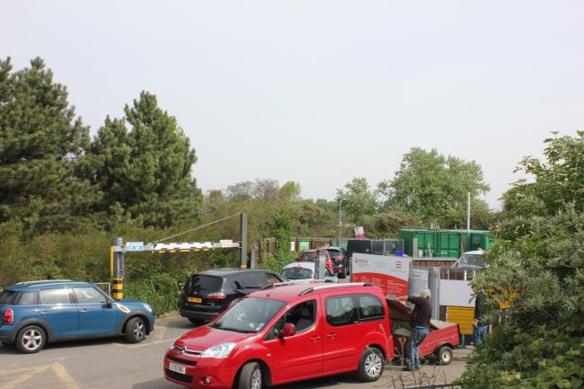 Anger as nearest recycling centres to town will not re-open on Monday
