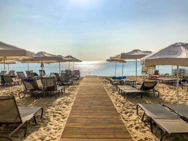 Sunny Beach, Bulgaria (pictured) is among the destinations offering to pay part of your holiday after lockdown. Picture: Pixabay