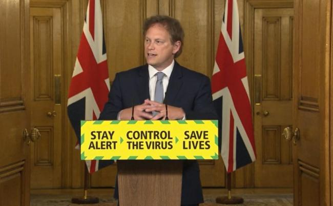 Transport Secretary Grant Shapps. Picture: PA