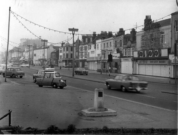 Clacton and Frinton Gazette: Marine Parade, Southend - late 1960s or early 1970s