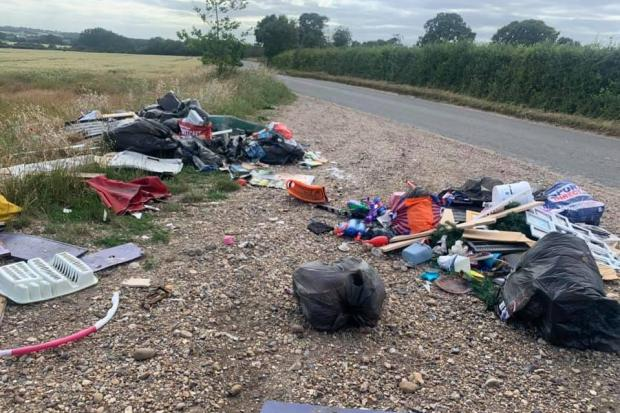 Fly-tipping in Great Bentley