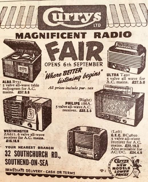 1948 adverts memories