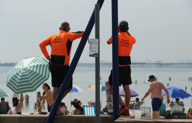 Clacton and Frinton Gazette: Keeping us safe - beach patrol