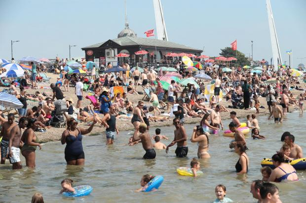 Clacton and Frinton Gazette: Having a brilliant time