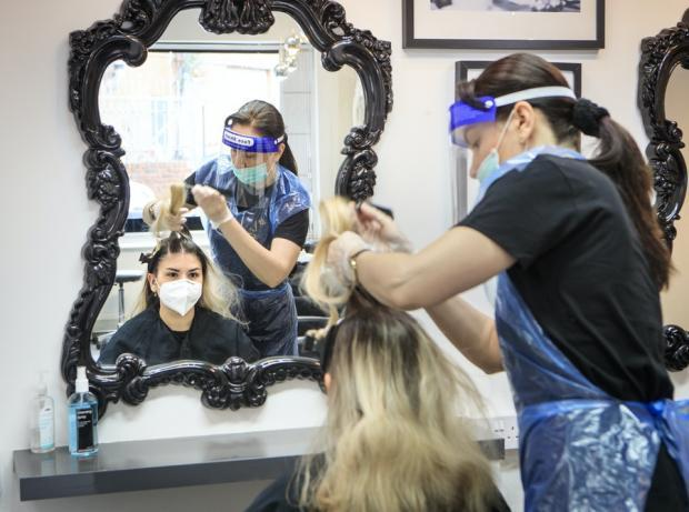 Clacton and Frinton Gazette: The new coronavirus law could also impact those getting their hair done