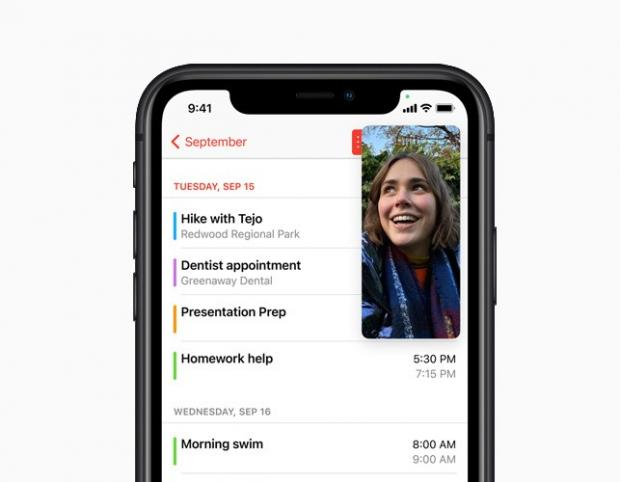 Clacton and Frinton Gazette: With Picture-in-Picture, users can watch a video or take a FaceTime call while using another app. Picture: Apple