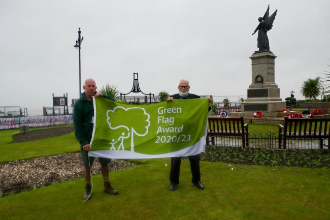 Green Flag: Sean Biswell and Michael Talbot in Clacton