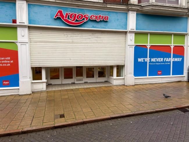 Town centre Argos closes its doors for good