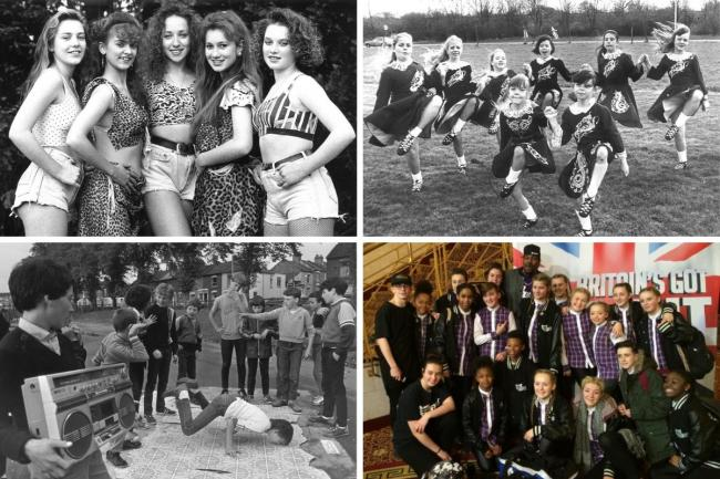 Through the years - south Essex dancers