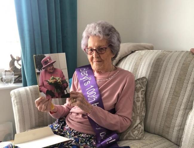 Seamstress to the stars Beryl celebrates 100th birthday