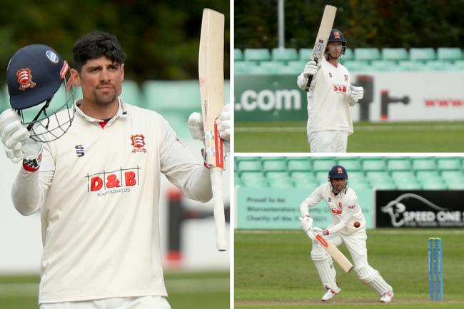 Great start - Essex ended day one on 266/2 against Worcestershire Pictures: GAVIN ELLIS