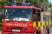 Firefighters tackle airing cupboard blaze