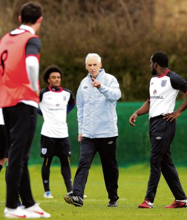 England C manager Paul Fairclough. Picture: Phil Mingo/Pinnacle/FA