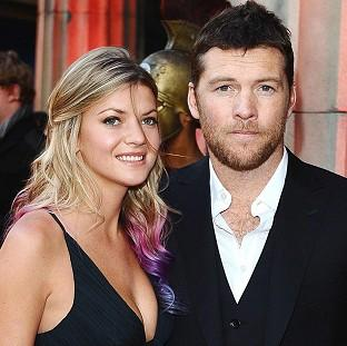 Sam Worthington said he didn't get on with his four-legged co-star