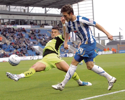 Farewell - Ben Coker has had his contract cancelled by Colchester United.