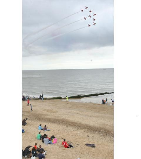 Red Arrows will return to Clacton Air Show this summer