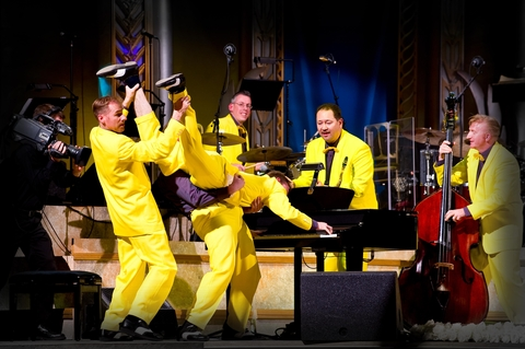 The world renowned Jive Aces