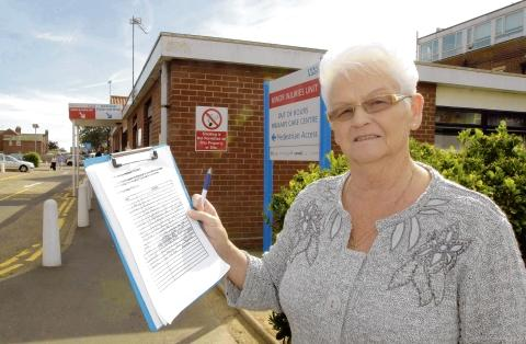 Patient's anger over hospital queues