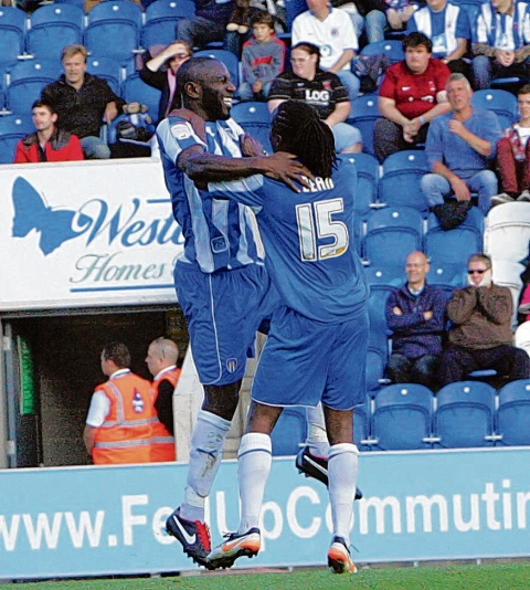 Confident - new U's signing Jabo Ibehre believes Colchester United can avoid relegation from League One this season.